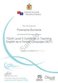 OFQUAL Accredited Certificate in TEFL